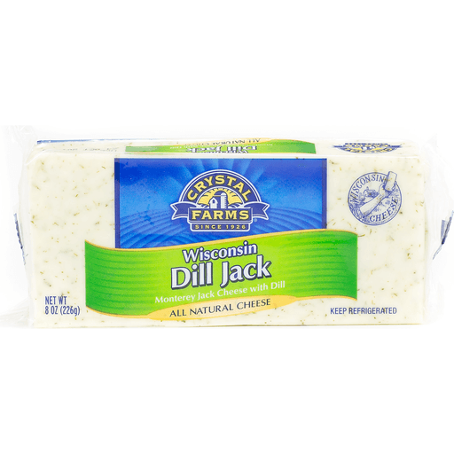 Crystal Farms Cheese, Wisconsin Dill Jack