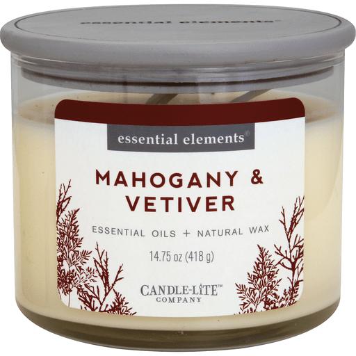 Candle Lite Ee Jar Mahogany Candle