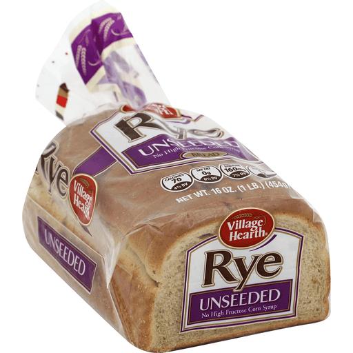 Village Hearth Bread, Rye, Unseeded