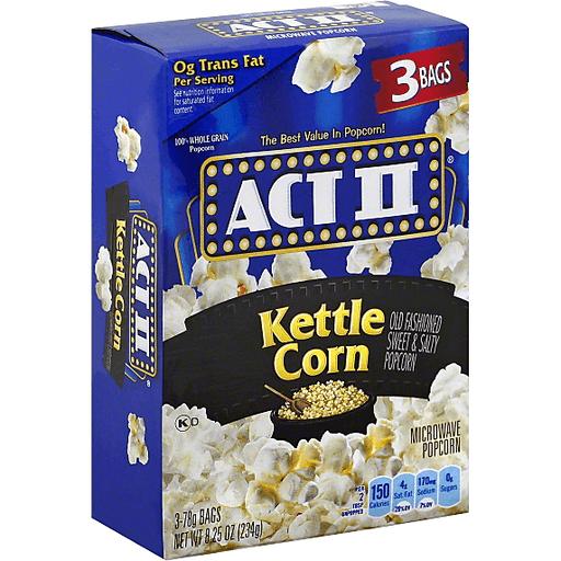 Act II Kettle Corn | Price Cutter