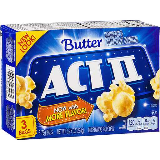 Act II Microwave Popcorn, Butter
