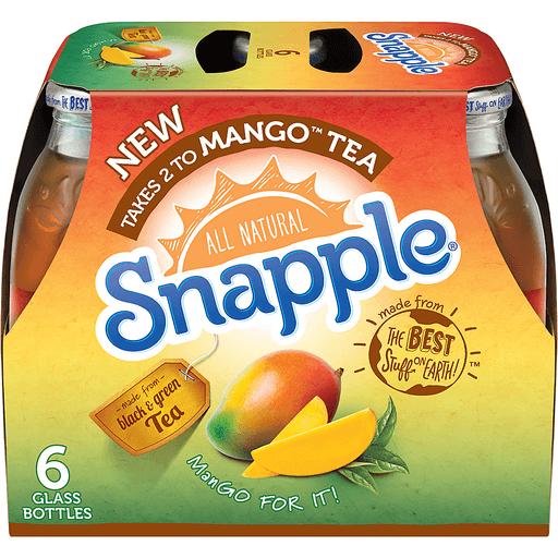 Snapple Mango Tea - 6 CT