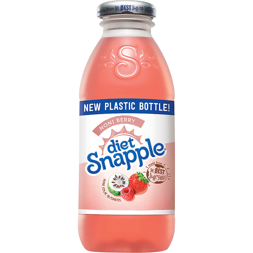 Snapple Diet Noni Berry   Soft Drinks
