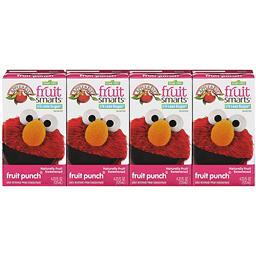 Apple Eve Fruit Smarts Sesame Street Fruit Punch 4-423 fl oz