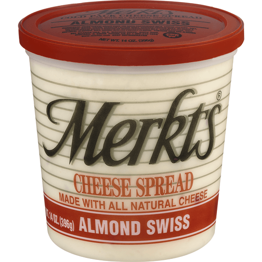 Merkts Cheese Spread, Almond Swiss