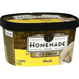 Homemade Ice Cream, Vanilla