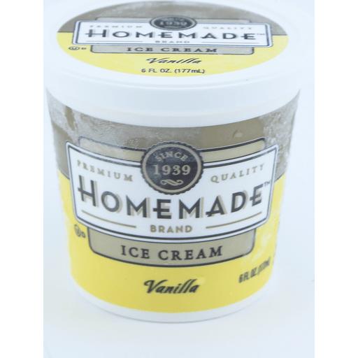 Homemade Brand Vanilla Cup Ice Cream