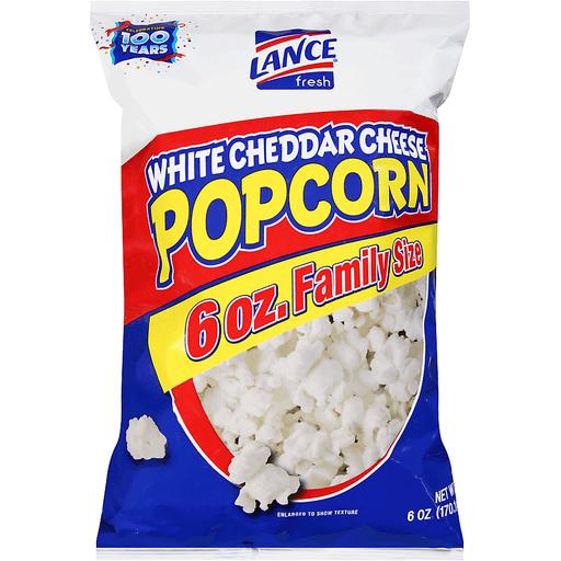 White Cheddar Cheese Popcorn 6 oz. Bag
