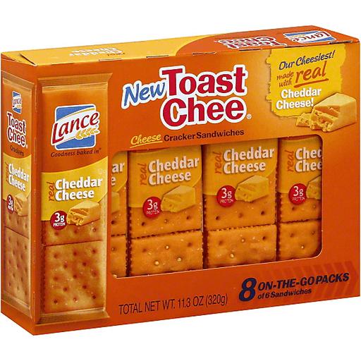 Lance Toast Chee Cracker Sandwiches, Cheese