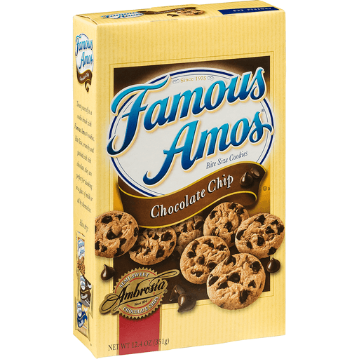 Famous Amos Cookies, Bite Size, Chocolate Chip