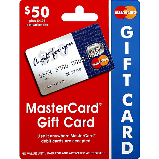 Mastercard Gift Card 50 Gift Cards Dave S Supermarket