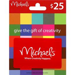 michaels gift card 25 lees market