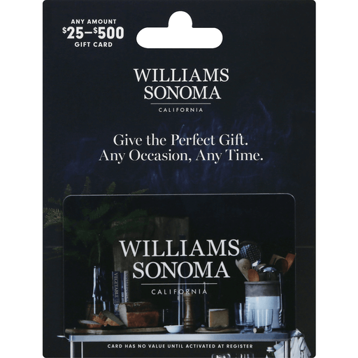 Williams Sonoma Gift Card 25 500 Shop 99 Ranch Market