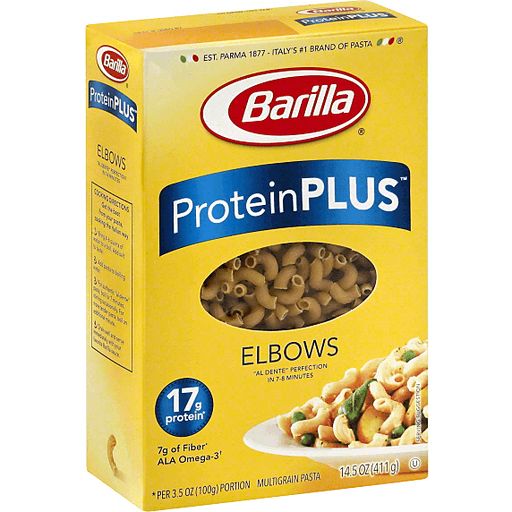 Barilla Plus Multigrain Pasta, Elbows