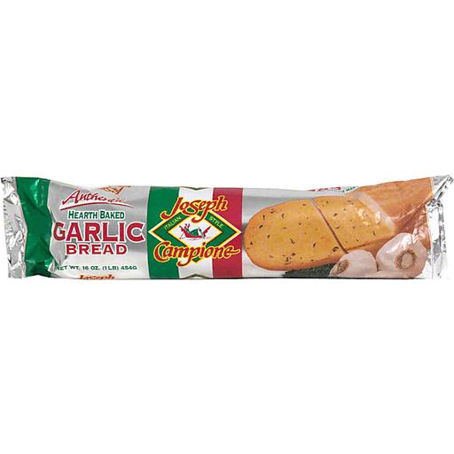Joseph Campione Hearth Baked Garlic Bread, Italian Style