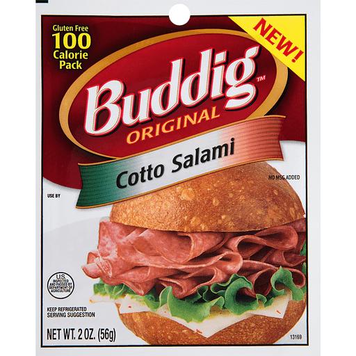 Buddig Original Salami, Cotto