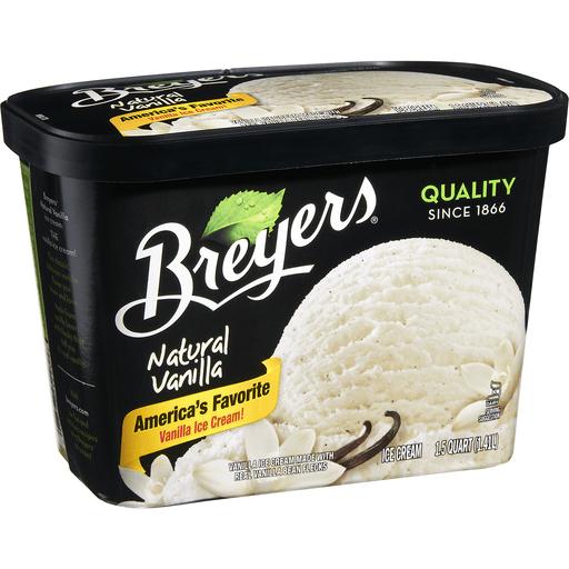 Breyers Ice Cream, Natural Vanilla
