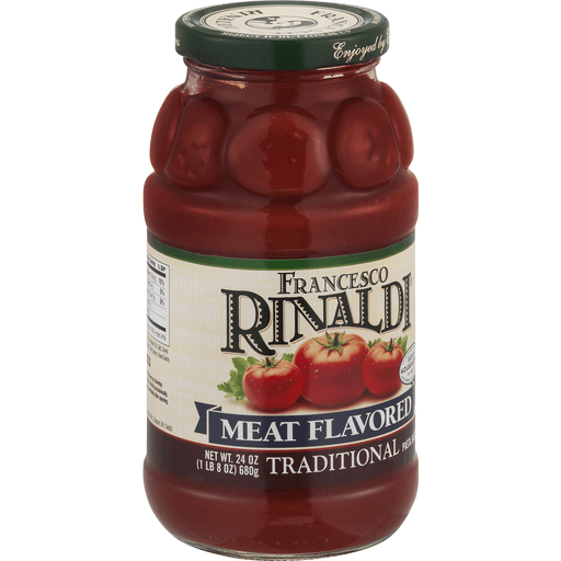 Francesco Rinaldi Pasta Sauce, Meat Flavored