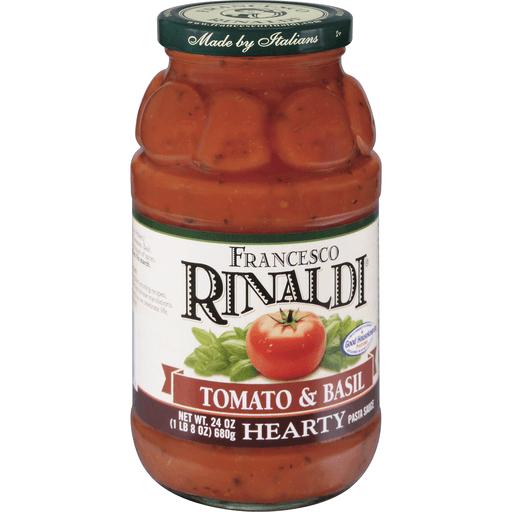 Francesco Rinaldi Pasta Sauce, Tomato & Basil