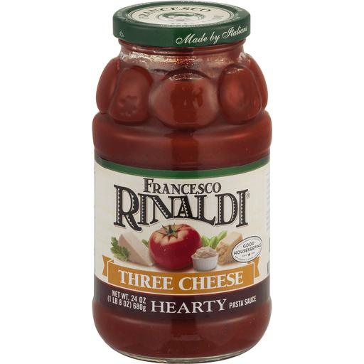 Francesco Rinaldi Pasta Sauce, Three Cheese