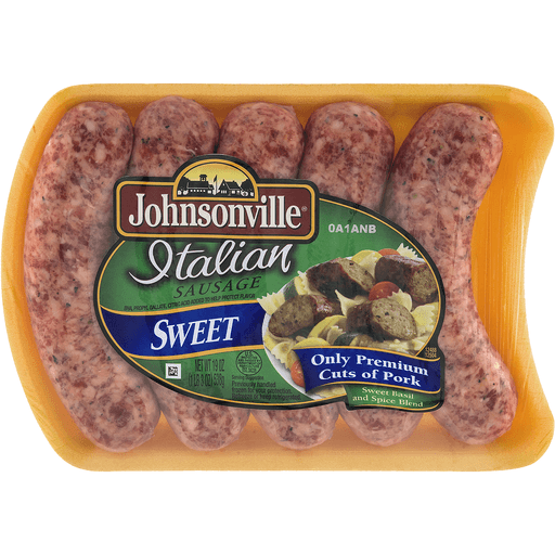 Johnsonville Italian Sausage, Sweet Basil and Spice Blend