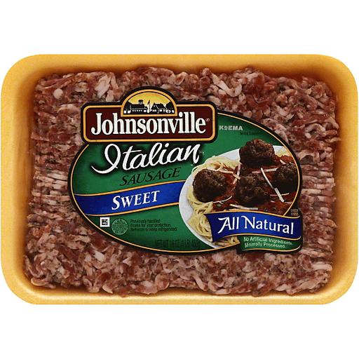 Johnsonville Sausage, Italian, Sweet