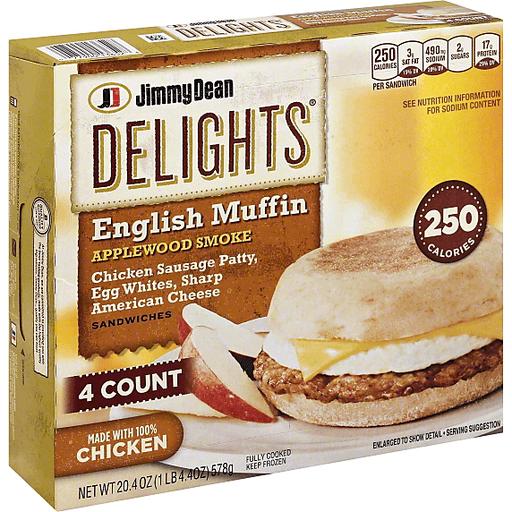 Jimmy Dean English Muffin Sandwiches