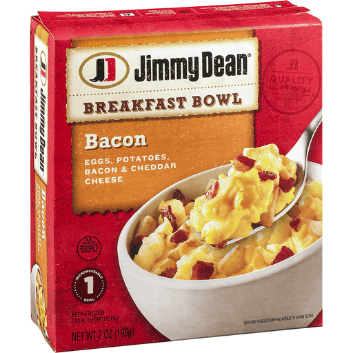 Jimmy Dean® Bacon Breakfast Bowl 7 oz. Box