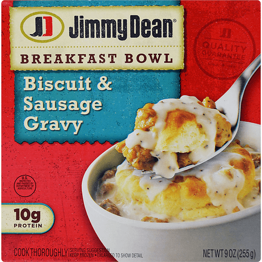 Jimmy Dean® Biscuit & Sausage Gravy Breakfast Bowl, 9 oz.