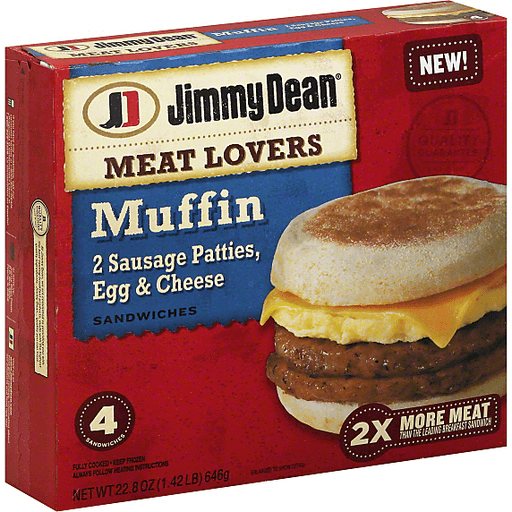 Jimmy Dean® Meat Lovers English Muffin