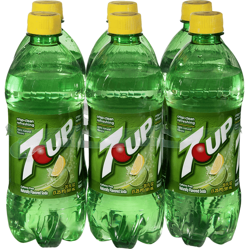 7UP, 20 Fl Oz Bottle