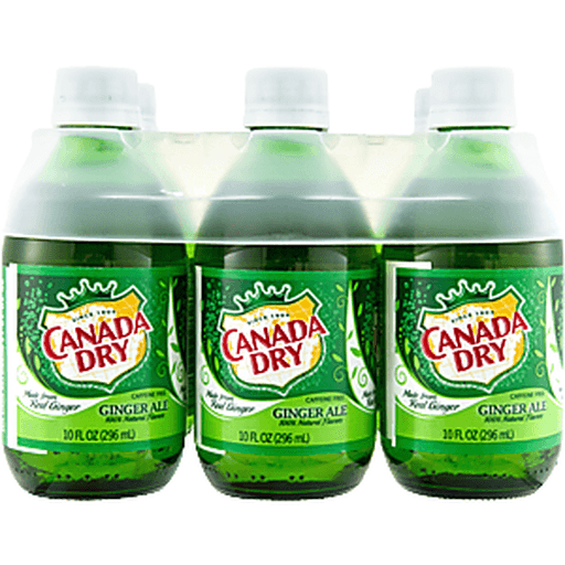 Canada Dry Ginger Ale - 6 CT