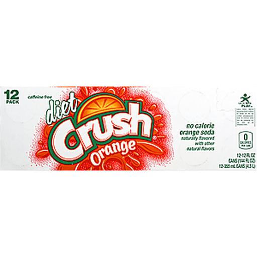 Crush Soda, Orange, Diet