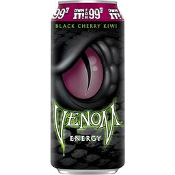 Venom Black Cherry Kiwi Energy Drink 16 Fl Oz Can 24