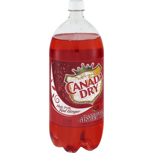 Canada Dry Ginger Ale, Cranberry