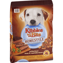 Kibbles N Bits Chef's Choice Dog Food, Homestyle, Grilled Beef & Vegetable Flavors