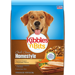 Kibbles N Bits Chef's Choice Dog Food, Homestyle, Roasted Chicken & Vegetable Flavors