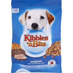 Kibbles N Bits Dog Food, Original, Savory Beef & Chicken Flavors