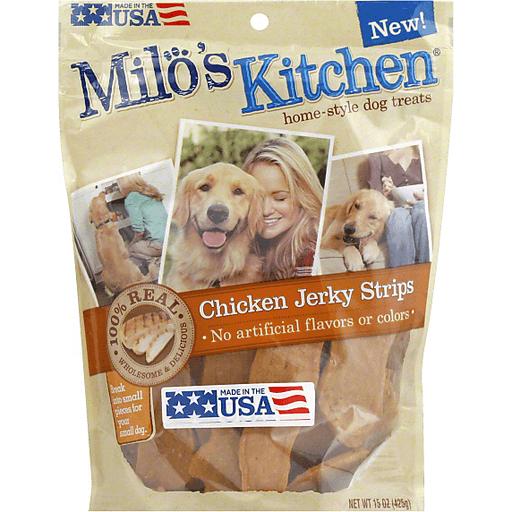 Milo S Kitchen Home Style Dog Treats Chicken Jerky Recipe