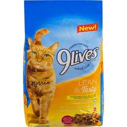 9 Lives Cat Food Lean Tasty