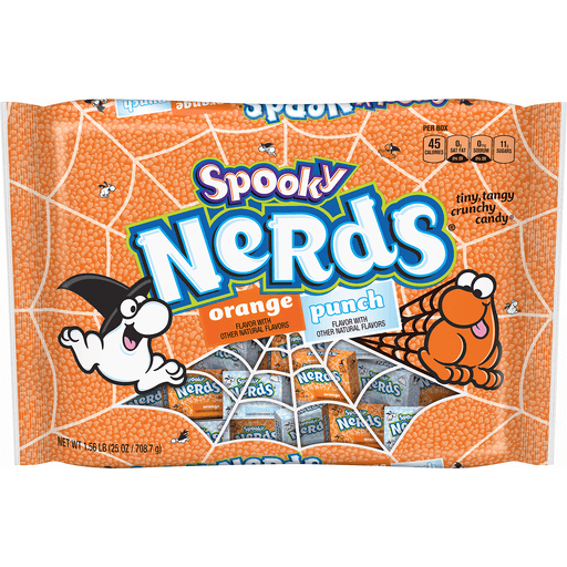 Halloween Nerds Candy.Spooky Nerds Orange Punch Halloween Candy 25 Oz Bag Packaged Candy Phelps Market