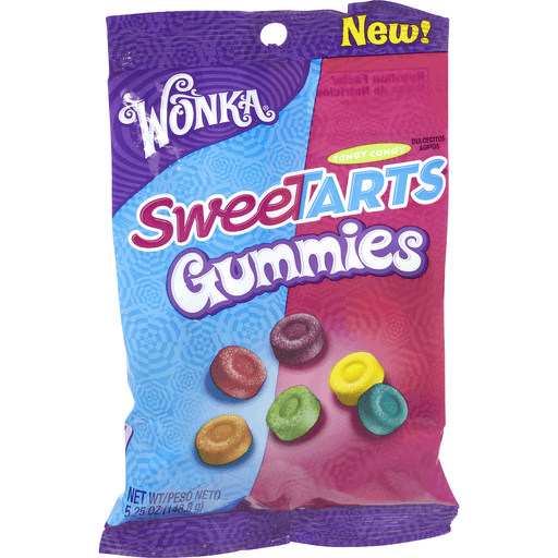 Sweetarts Tangy Candy, Gummy Bites, Mini