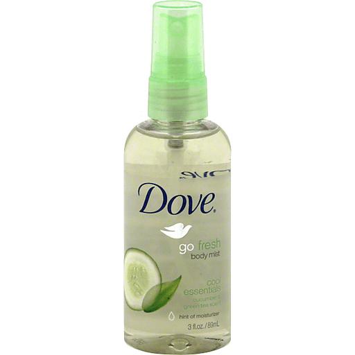 Dove Cool Essentials Body Mist 3 Fl Oz Spray Bottle Deodorants Antiperspirants Chief Markets