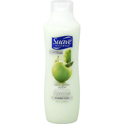 Suave Naturals Conditioner Juicy Green Apple Family Size