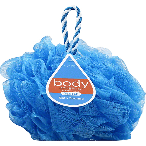Body Benefits Bath Sponge, Gentle