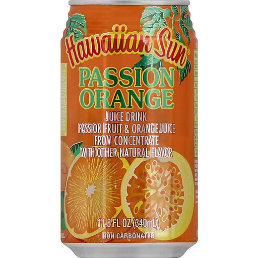 Hawaiian Sun Orange Passion Juice