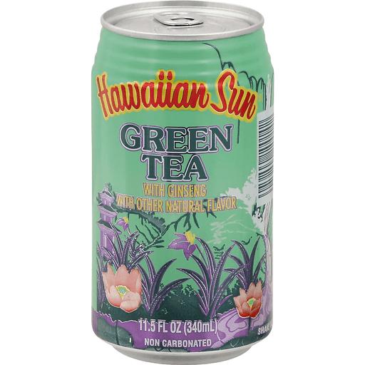 Hawaiian Sun Green Tea W/Ginseng Drink