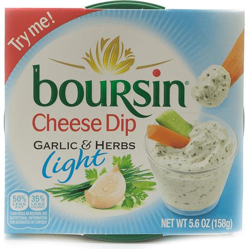 Boursin Cheese Dip, Light, Garlic