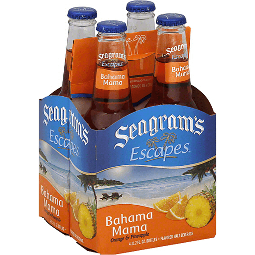 Seagrams Escapes Beer, Flavored, Bahama Mama