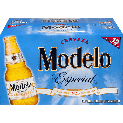 Modelo Imported Beer Bottles - 12 CT